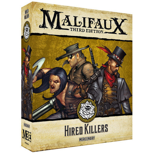 MALIFAUX 3E: OUTCASTS - HIRED KILLERS | BD Cosmos