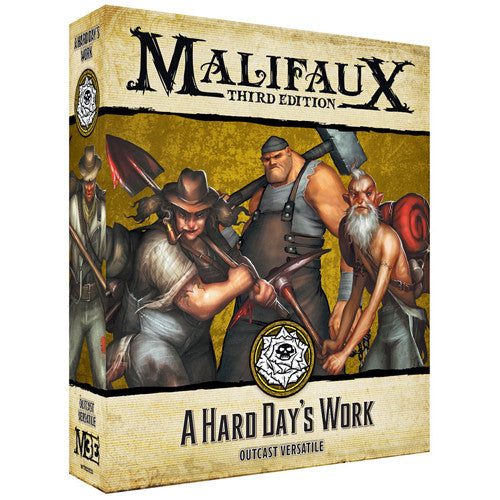 MALIFAUX 3E: OUTCASTS - A HARD DAY'S WORK | BD Cosmos