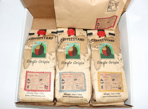 Big roaster sample box - coffeestamp