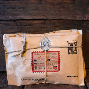 Roaster sample box - coffeestamp