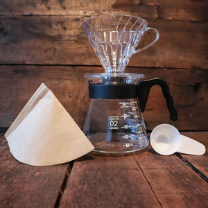 Hario coffee pour over starter kit - coffeestamp