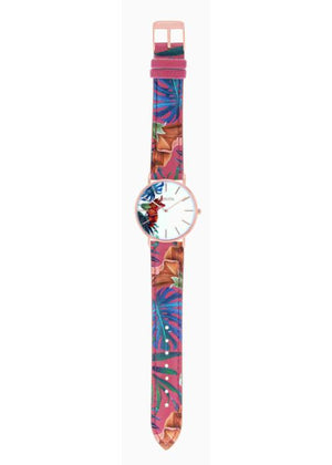 TROPICAL - CUIR MULTICOLORE / ROSE GOLD | BCL10031-004