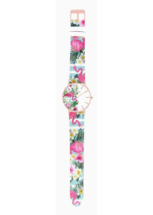 TROPICAL - CUIR MULTICOLORE / ROSE GOLD | BCL10031-013