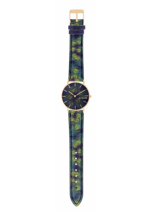 TROPICAL - CUIR MULTICOLORE / DORE | BCL10031-063