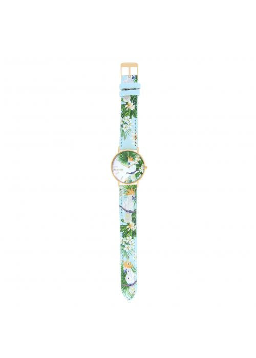 TROPICAL - CUIR MULTICOLORE / OR | BCL10032-70
