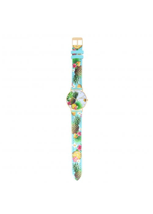 TROPICAL - CUIR MULTICOLORE / OR | BCL10032-74
