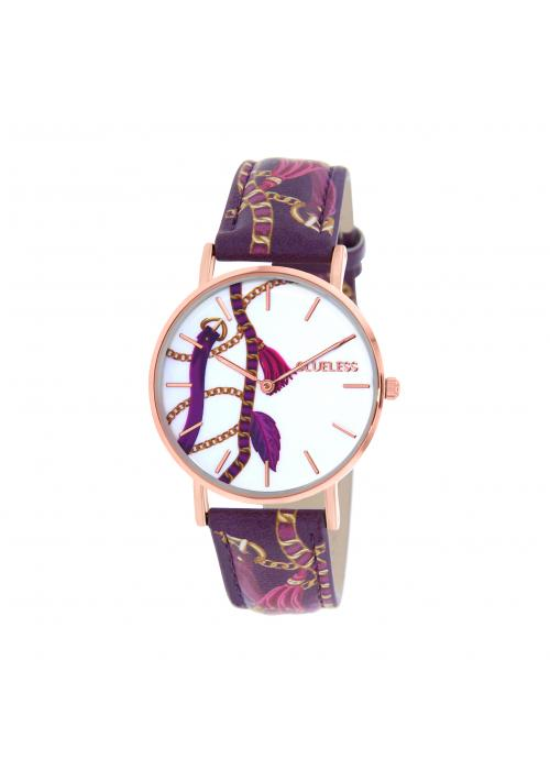 Clueless Montre Femme -  Cadran multicolore - Collection UNCHAINED-CUIR MULTICOLORE / ROSE | BCL10032-076