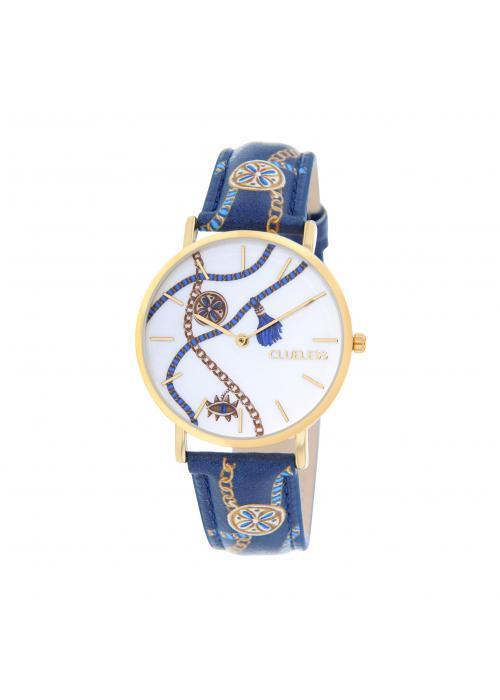 Clueless Montre Femme -  Cadran multicolore - Collection UNCHAINED-CUIR MULTICOLORE / OR | BCL10032-080