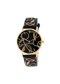 Clueless Montre Femme -  Cadran multicolore - Collection UNCHAINED-CUIR MULTICOLORE / OR | BCL10032-082