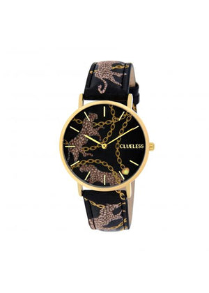 Clueless Montre Femme -  Cadran multicolore - Collection UNCHAINED-CUIR MULTICOLORE / OR | BCL10032-083
