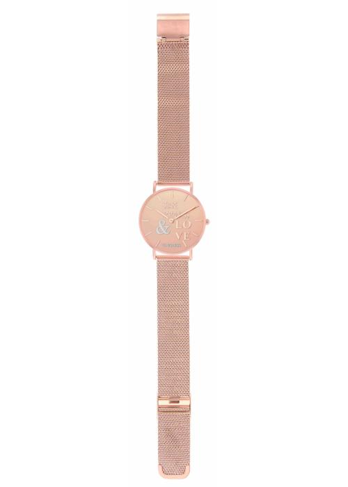 HAPPY - MESH ROSE GOLD / MULTICOLORE  | BCL10034-049