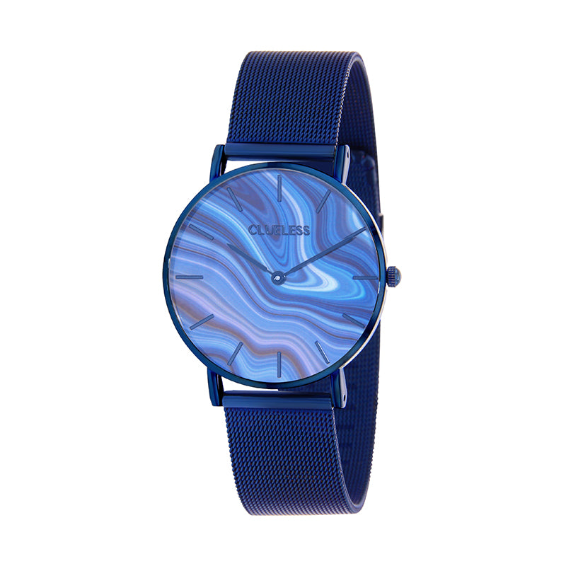 CLUELESS Montre Femme - Collection Déco - Maille Milanaise Dore | BCL10204-805