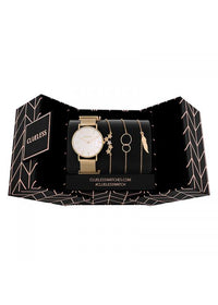 Clueless Montre Femme - Collection ECLIPSE - Mesh DORE - Cadran NACRE| BCL10230 - 001G