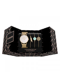 Clueless Montre Femme - Collection ECLIPSE - Mesh DORE - Cadran NACRE| BCL10230 - 003G