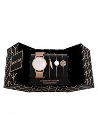Clueless Montre Femme - Collection ECLIPSE - Mesh rose - Cadran NACRE| BCL10230 - 003RG