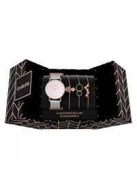 Clueless Montre Femme - Collection ECLIPSE - Mesh ARGENT - Cadran NACRE| BCL10230 - 005