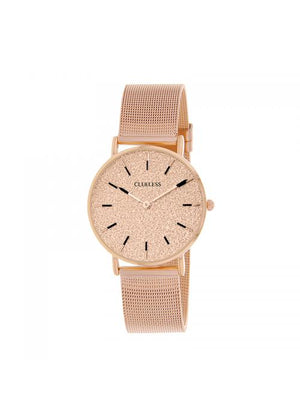 Clueless Montre Femme - Collection SPARKLE - Mesh ROSE - Cadran ROSE| BCL10254 - 812