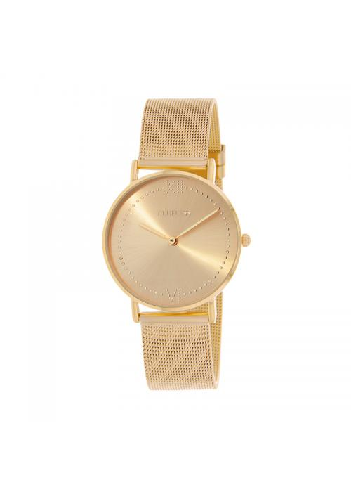Clueless Montre Femme - Collection EMPIRE - Mesh DORE - Cadran Dore| BCL10264 - 104