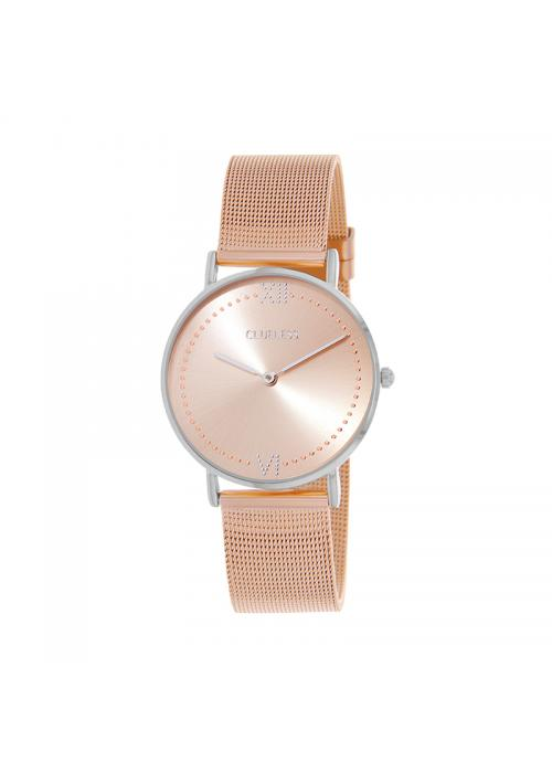 Clueless Montre Femme - Collection EMPIRE - Mesh ROSE - Cadran ROSE| BCL10264 - 303