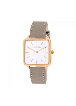 Clueless Montre Femme - Collection FAME - Cuir BEIGE - Cadran BLANC| BCL10272 - 004