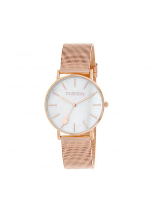 Clueless Montre Femme -  Cadran nacre - Collection CLASSIC-MESH OR ROSE /  ROSE | BCL10304-002