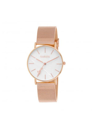 Clueless Montre Femme -  Cadran nacre - Collection CLASSIC-MESH OR ROSE /  ROSE | BCL10304-009