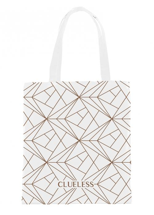 Clueless Sac - Tote Bag - Blanc | XBCL001-002