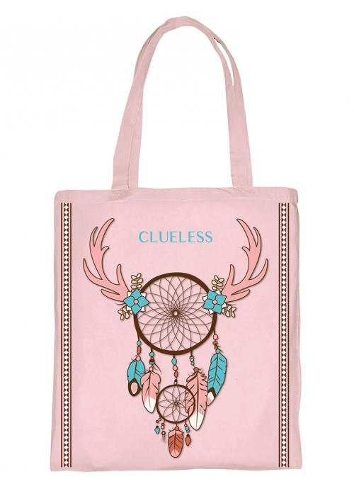 Clueless Sac - Tote Bag - Rose | XBCL001-078