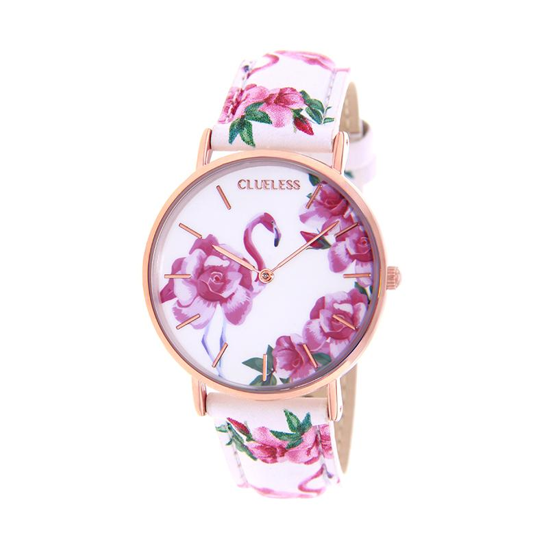 CLUELESS Montre Femme - Collection Tropical - Cuir Multicolore | BCL10032-054