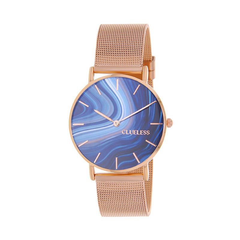 CLUELESS Montre Femme - Collection Déco - Maille Milanaise Dore | BCL10204-002