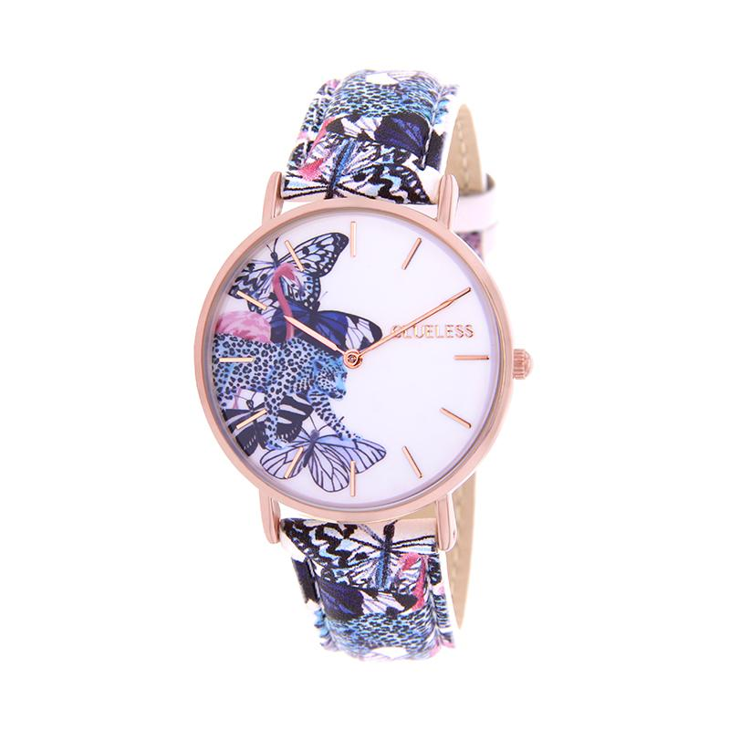 CLUELESS Montre Femme - Collection Tropical - Cuir Multicolore | BCL10032-056