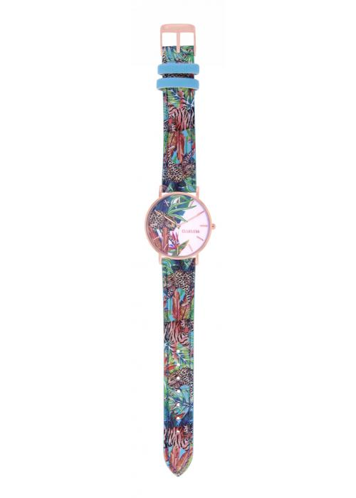 TROPICAL - CUIR MULTICOLORE / ROSE GOLD | BCL10032-058