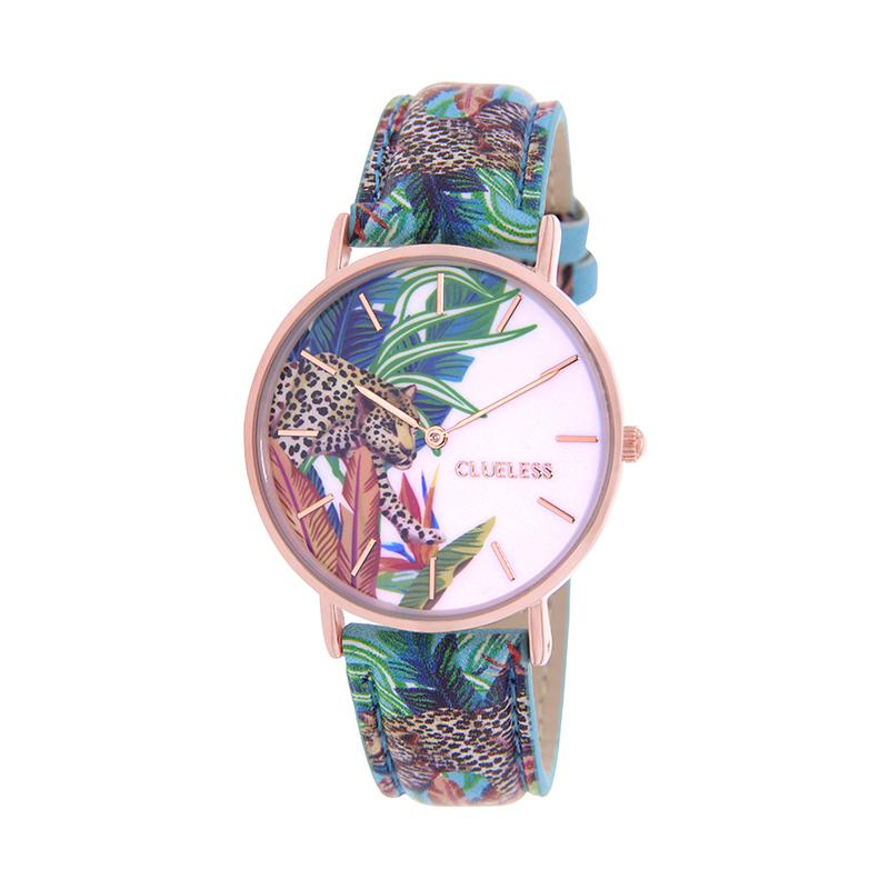 CLUELESS Montre Femme - Collection Tropical - Cuir Multicolore | BCL10032-058
