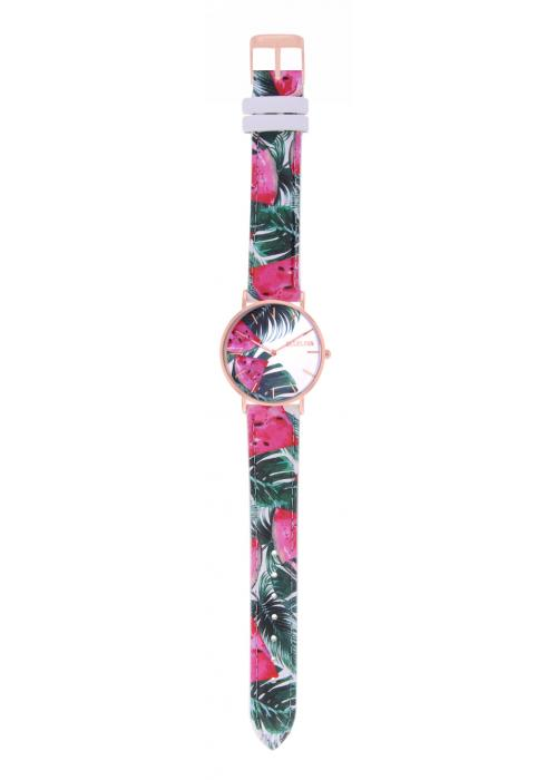 TROPICAL - CUIR MULTICOLORE / ROSE GOLD | BCL10032-059