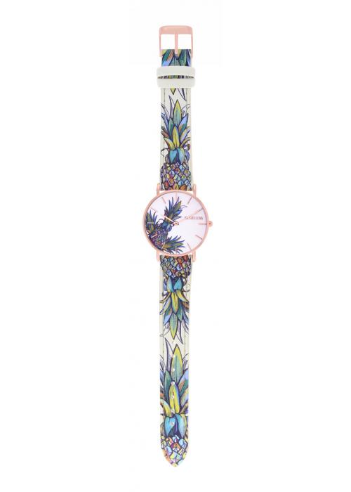 TROPICAL - CUIR MULTICOLORE / ROSE GOLD | BCL10032-060