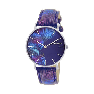 CLUELESS Montre Femme - Collection Tropical - Cuir Multicolore | BCL10032-062