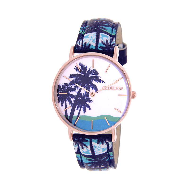 CLUELESS Montre Femme - Collection Tropical - Cuir Multicolore | BCL10032-063