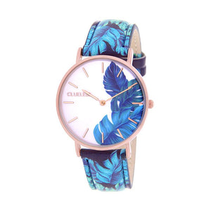 CLUELESS Montre Femme - Collection Tropical - Cuir Multicolore | BCL10032-064