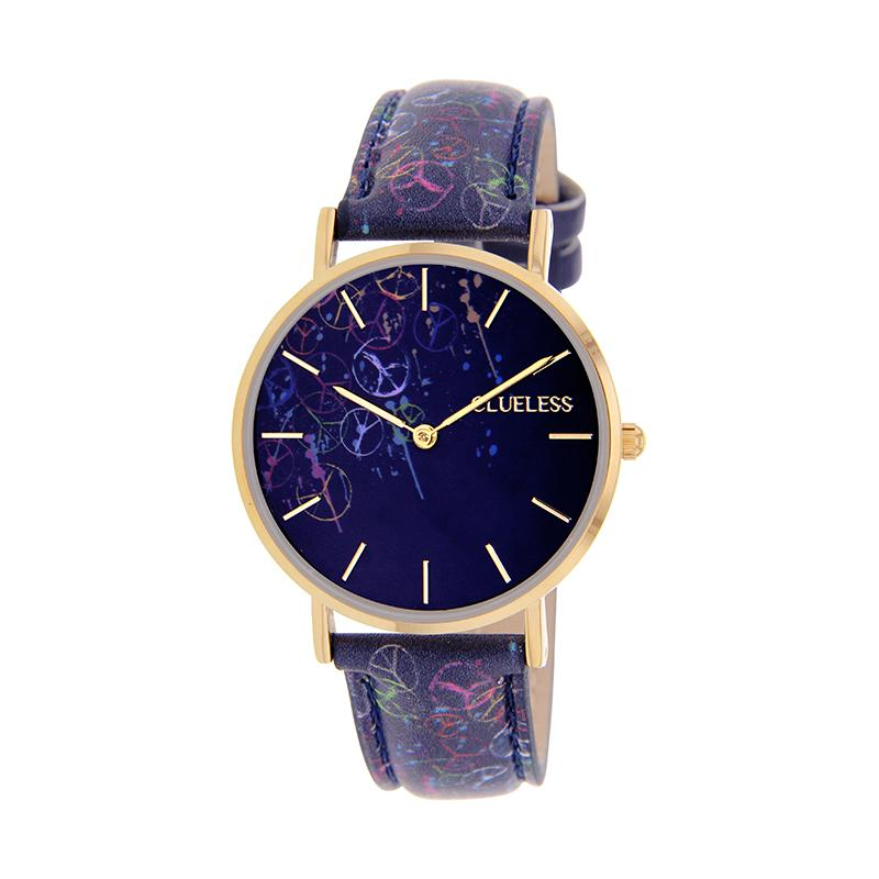 CLUELESS Montre Femme - Collection Society - Cuir Multicolore | BCL10032-065