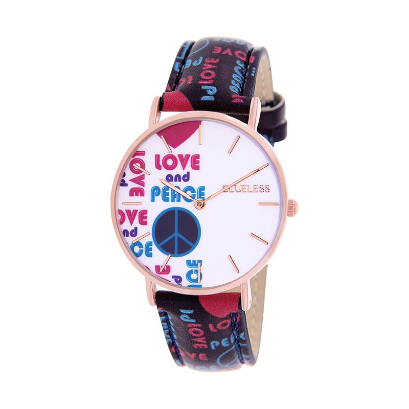 CLUELESS Montre Femme - Collection Society - Cuir Multicolore | BCL10032-066