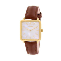 CLUELESS Montre Femme - Collection Fame - Cuir Marron | BCL10142-101