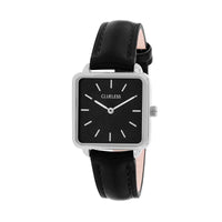 CLUELESS Montre Femme - Collection Fame - Cuir Noir | BCL10142-203