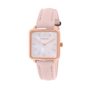 CLUELESS Montre Femme - Collection Fame - Cuir Rose | BCL10142-806