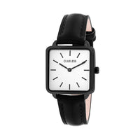CLUELESS Montre Femme - Collection Fame - Cuir Noir | BCL10142-901