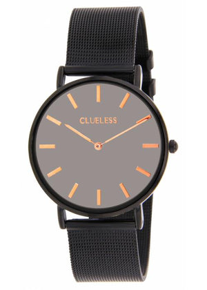 Clueless Montre Femme - Collection Classic - Mesh Noir | BCL10004 009