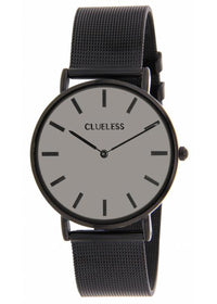 Clueless Montre Femme - Collection Classic - Mesh Noir | BCL10004 010