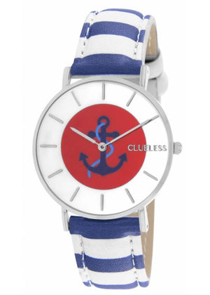 Clueless Montre Femme - Collection Society Cuir Multicolore | BCL10032 003