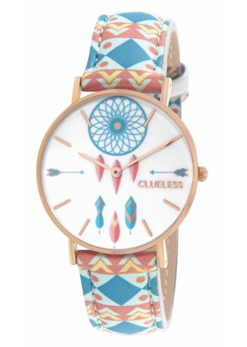 Clueless Montre Femme - Collection Tribal Cuir Multicolore | BCL10032 009