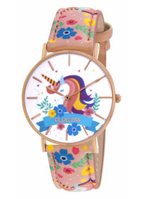 Clueless Montre Femme - Collection Society Cuir Multicolore | BCL10032 011