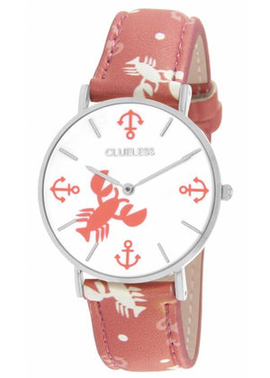 Clueless Montre Femme - Collection Society Cuir Multicolore | BCL10032 012